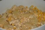 sałatka z kurczaka i ananasa