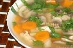 Lekka zupa pieczarkowa