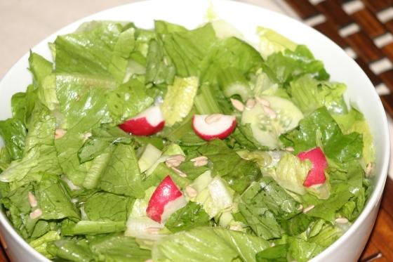 bukiet chrupiących warzyw