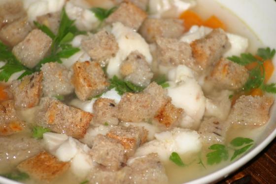 Zupa rybna z filetów