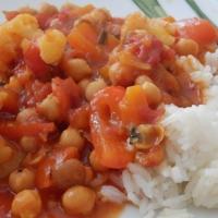 Warzywa w sosie mild curry