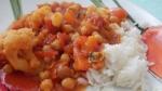 Warzywa w sosie mild curry 4