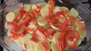 Pyszna zapiekanka z warzywami