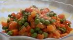 Stołówkowa marchewka z groszkiem