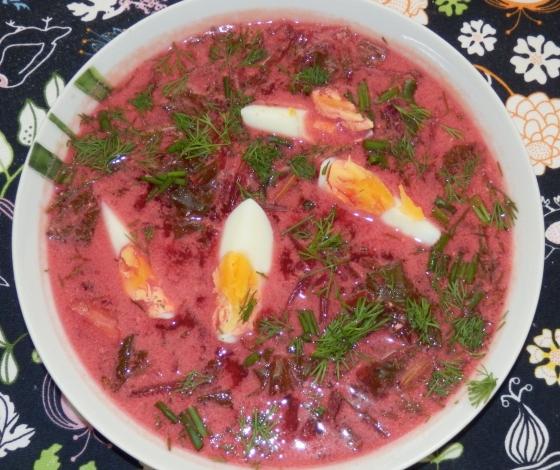Zupa botwinkowa