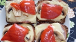 Pyszne grzanki z pełnoziarnistego chleba
