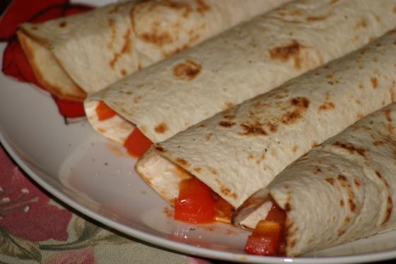 tortille z salsa