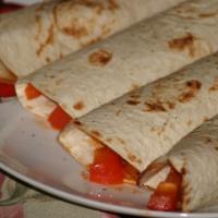 Meksykańska tortilla z pikantną salsą