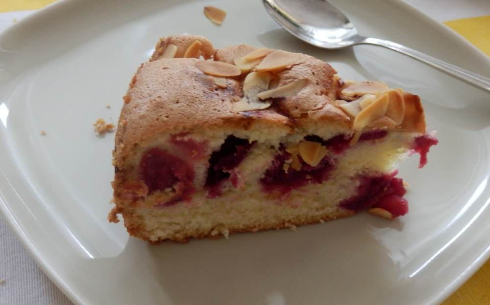 szybkie ciasto z wiśniami