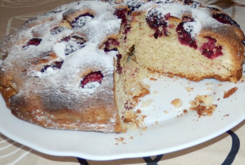 ciasto jeżynowe
