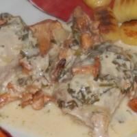 Polędwiczki wieprzowe z kurkami