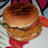 Wegetariańskie hamburgery