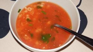 Szybka zupa pomidorowa