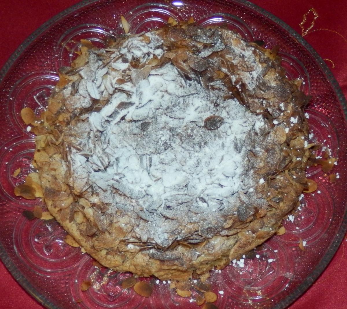 Ciasto migdałowo-cynamonowe