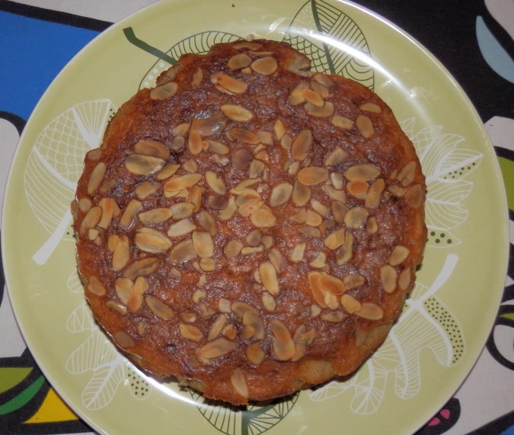 ciasto jabłkowo migdałowe