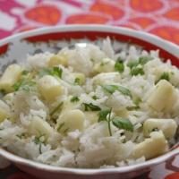 Sałatka ryżowa ze szparagami