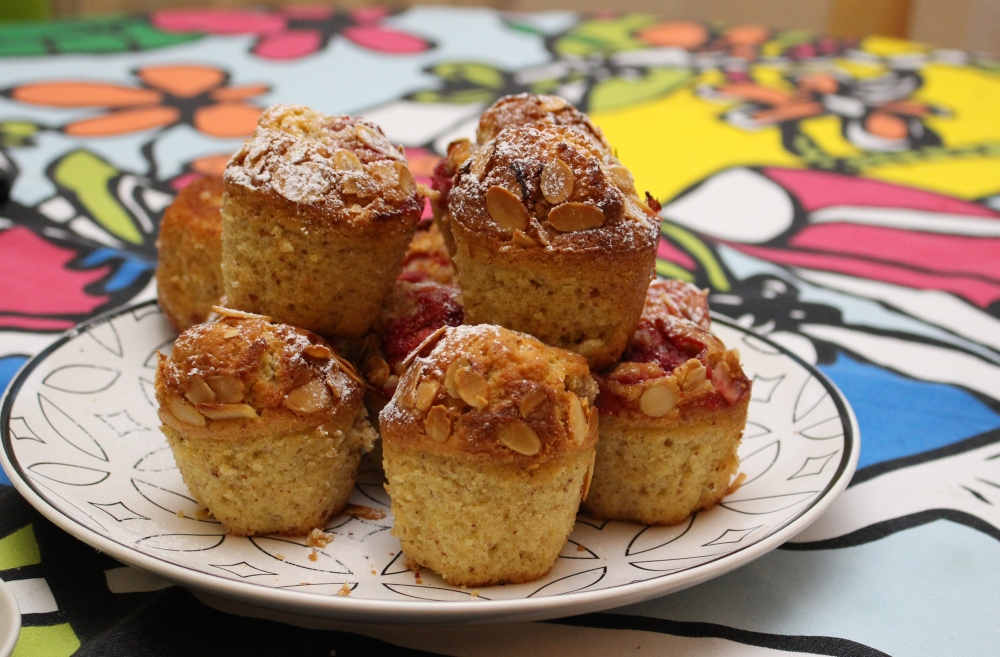 muffinki truskawkowe 1