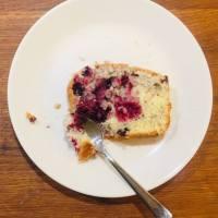 Szybkie i proste ciasto wiśniowo - migdałowe
