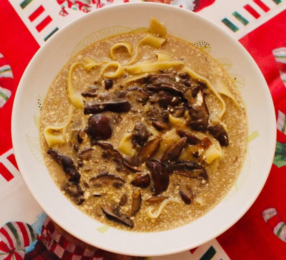 Zupa grzybowa z mrożonych grzybów