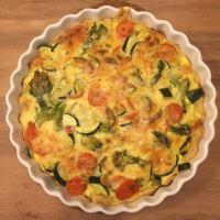 Pyszna tarta z warzywami
